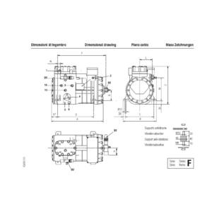 F 4 16 Y Frascold Semi-hermetic Compressors