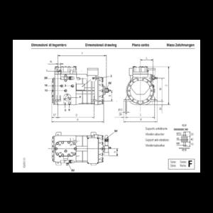 F 4 16 Y Frascold semi-hermétique Compressors