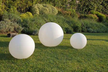 Sfera luminosa da giardino e locali illuminabile DESIGN a batteria ricaricabile COLORE TUTTI