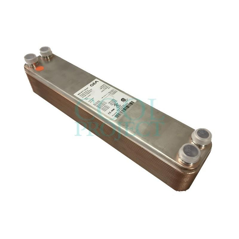 Echangeur de chaleur à plaques GBS 240H Kelvion (GEA) ex WP24 WTT