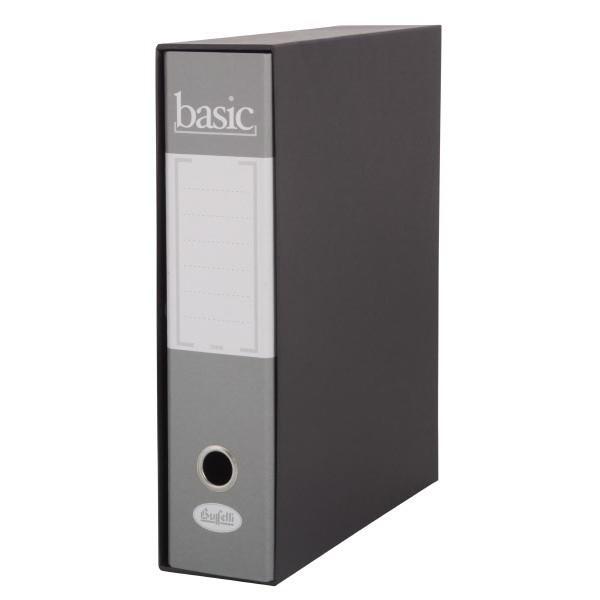 REGISTRATORE RACCOGLITORE BASIC GRIGIO DORSO 8 - BUFFETTI 7800B8000