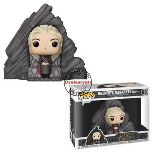 Funko POP! Rides Daenerys on Dragonstone Throne - 15 cm
