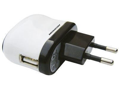 ADATTATORE ALIMENTATORE PRESA A MURO USB