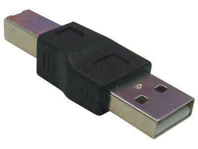 ADATTATORE USB TIPO A MASCHIO - TIPO B MASCHIO