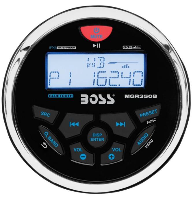 Radio Boss MCKGB350W.6 Package da Cruscotto di BOSS MARINE - Offerta di Mondo Nautica  24