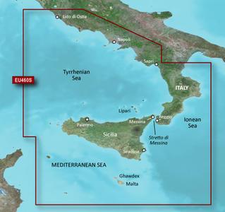 Cartografia Nautica Garmin Bluechart G3 HD Vision Sicilia Lido di Ostia - Offerta di Mondo Nautica 24