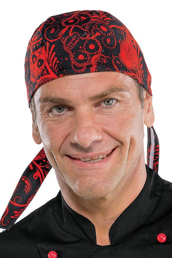 BANDANA SKULL 07 100 % COTTON