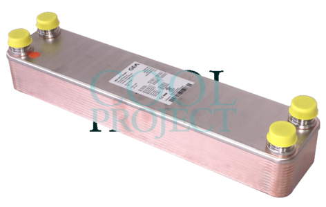 Scambiatore di calore GBS 525H Kelvion (GEA) ex WP525 WTT