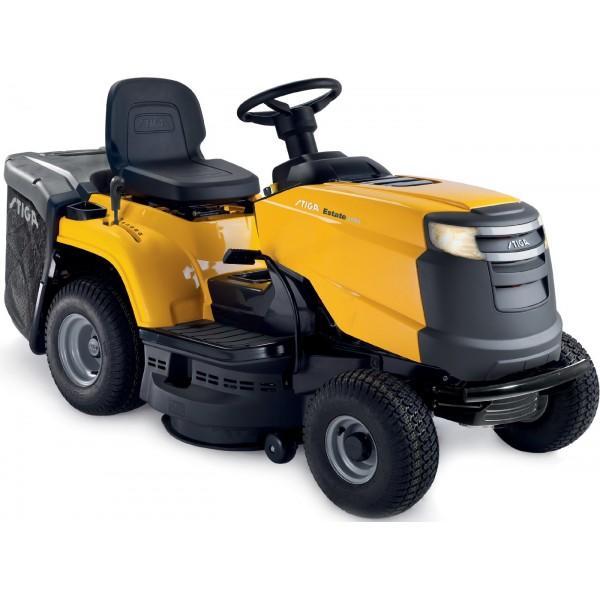 Trattorino tosaerba STIGA ESTATE 2084 H trasmissione idrostatica cesto di raccolta mulching Motore GGP 7750 452 cc taglio cm 84