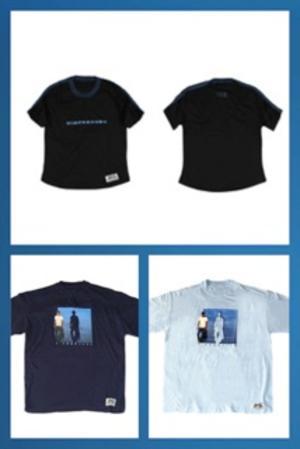 """Promo T-Shirt foto """"L'Anno Zero"""" - K-Way colore Blu"""