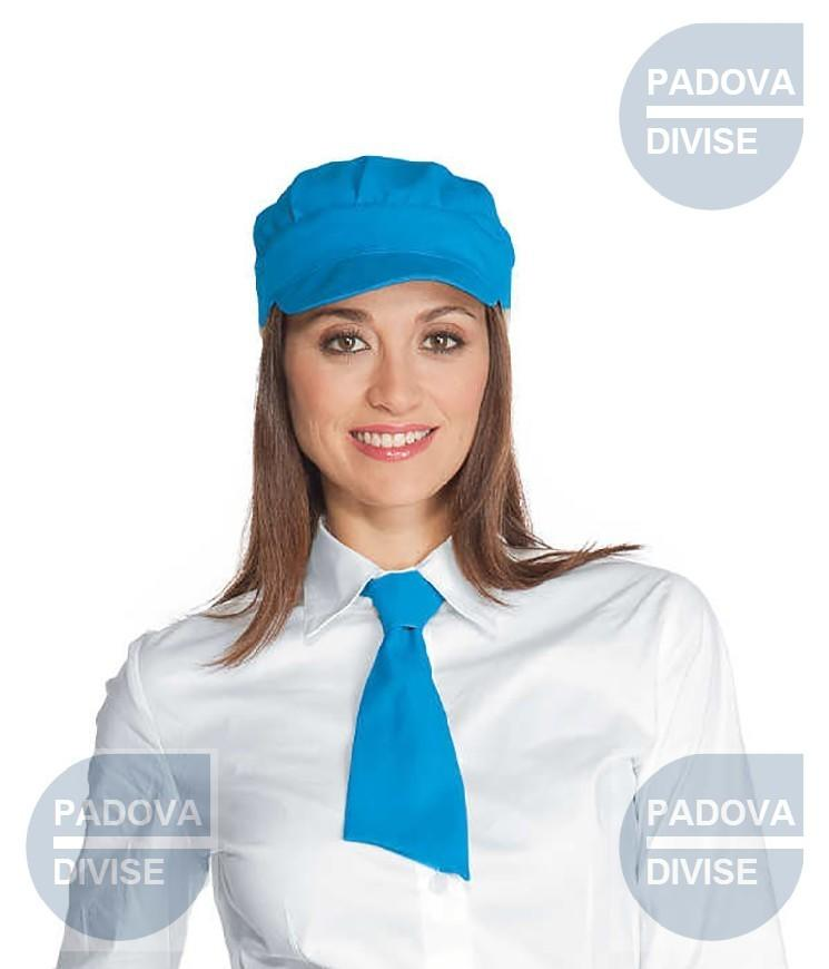CRAVATTINO TURCHESE 100 % POLYESTER