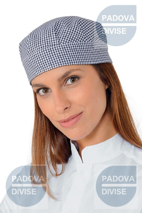 CAPPELLO BOB PIED DE POULE 100 % COTTON