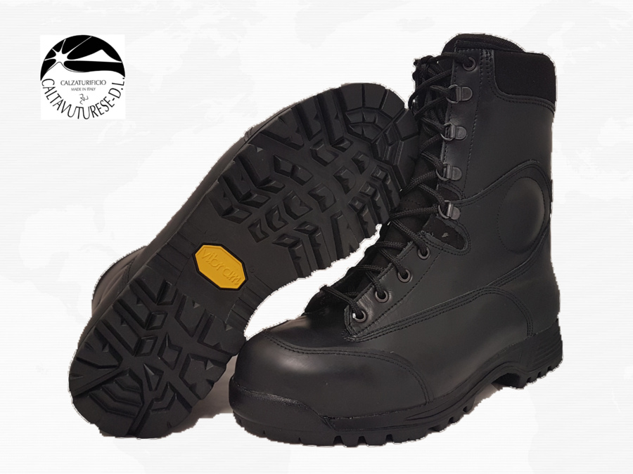 Anfibio Militare Art. 650 Col.Nero Mod. 2015 - Vibram