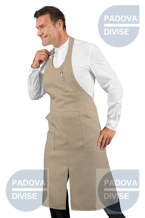 SOMMELIER  CON SPACCO NATURAL 100% POLYESTER