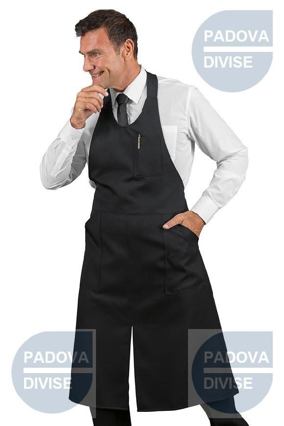 SOMMELIER  CON SPACCO NERO 100% POLYESTER