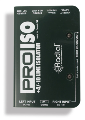 Radial Pro-ISO