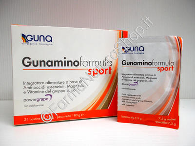 GUNAMINO FORMULA SPORT 24 Bustine