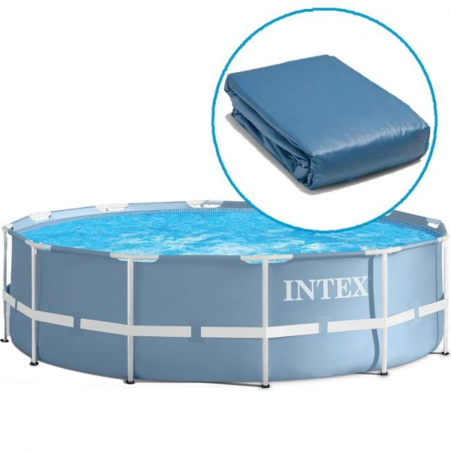 Vasca ricambio INTEX Liner Prisma Frame Rotonda 366 x 76 Cm - 28710 28712 (12449)