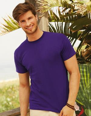 TSHIRTS COLORATA IN 100% COTONE PESO 145 GR.M FRUIT OF THE LOOM
