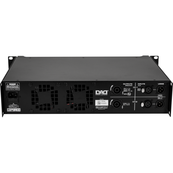 DAD amplificatore DSP1500