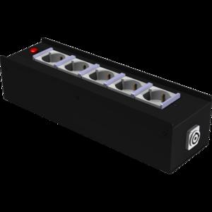 PBI1643PC electric distribution box 5x16A 3P Shuko