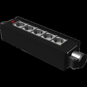 PBI1643CE electric distribution box 5x16A 3P Shuko