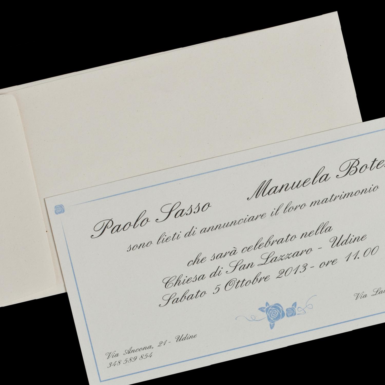 Partecipazioni Matrimonio Udine.Partecipazione Di Matrimonio Bouquet