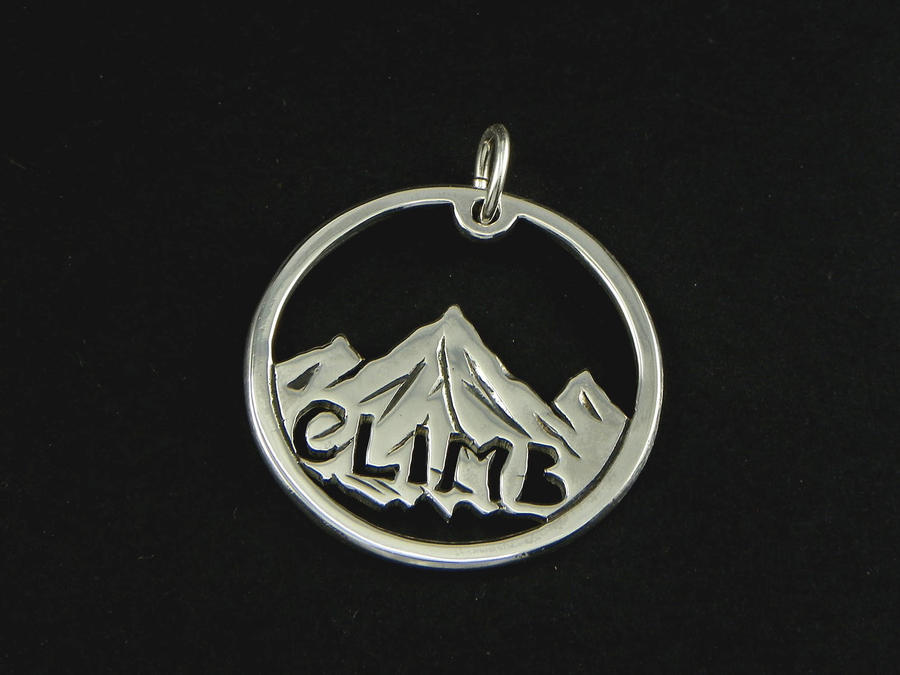 "Mountain Pendant  ""Climb"""