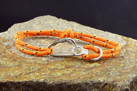 Bracelet Carabiner + Figure 8 - Big