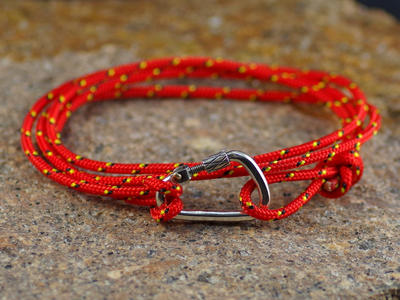 Bracelet Carabiner Climbing Big - double ride