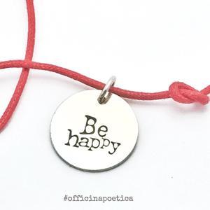 ciondolo BE HAPPY