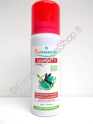 PURESSENTIEL SPRAY SOS INSETTI 75 ML