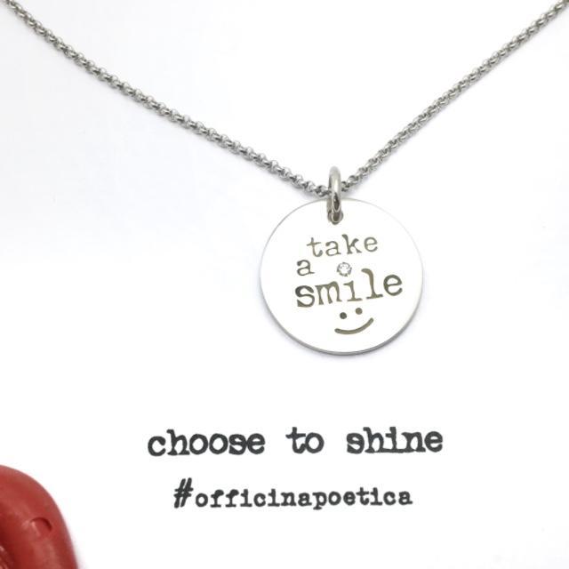 collana SPARKLY Take a smile