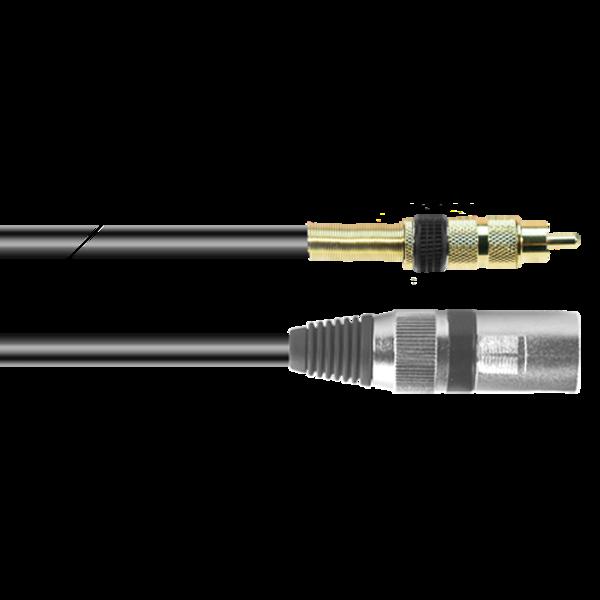ProAudio PLAY12338 series - Cavo audio XLR (m)-RCA (m)