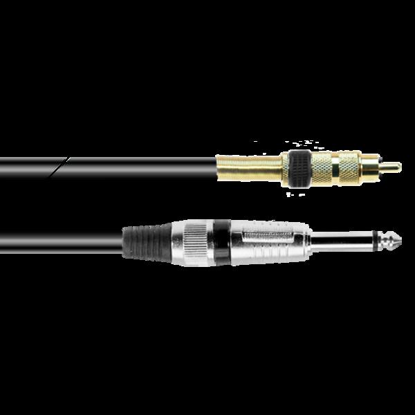 ProAudio PLAY12337 series - Cavo audio JACK MN (m)-RCA (m)