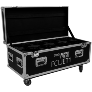Roadcase per teste mobili serie ProLights JETBEAM1 & JETSPOT1