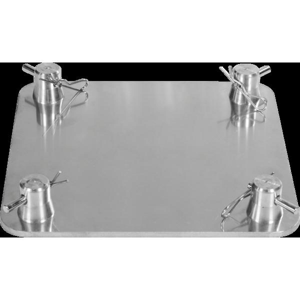 SQ22FP - Base da terra per tralicci in alluminio a sezione quadrata serie SQ22.