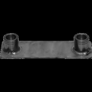 SFFP - Base da terra per tralicci in alluminio a sezione piana serie SF.