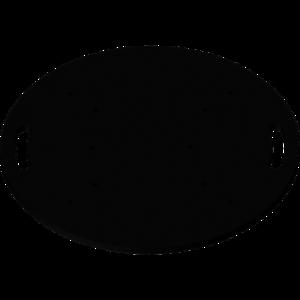 FPU65R - Base da terra universale per tralicci in alluminio.
