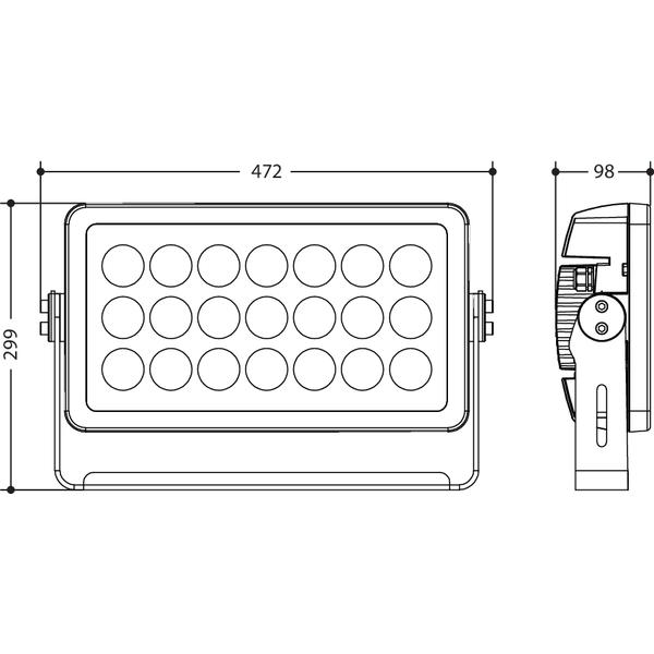 ARCPOD21 - Proiettore LED per uso architettonico
