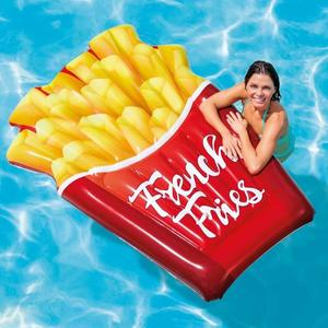 Materassino Gonfiabile Intex 58775 FRENCH FRIES Patatine Fritte Piscina Mare