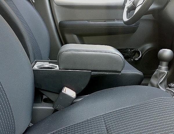 Bracciolo regolabile con portaoggetti per Suzuki Swift (dal 2016)
