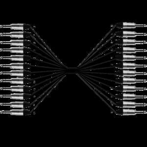 ProAudio TOUR41236 series - Cavo audio multipolare 12 JACK MN (m) - 12 JACK MN (m)