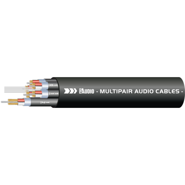 ProAudio TOUR41230 series - Cavo audio multipolare 12 XLR (m) - 12 XLR (f)