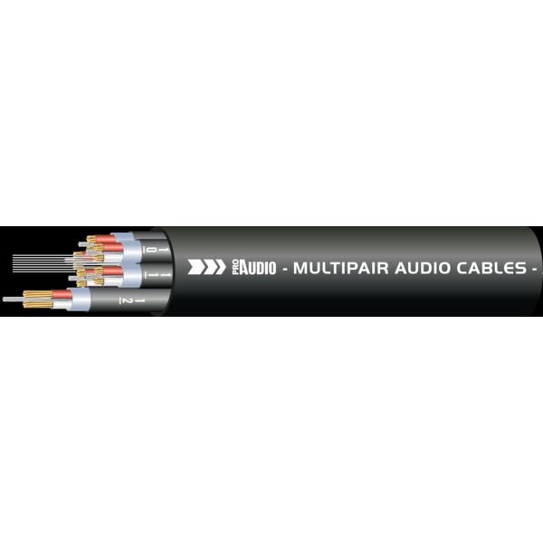 ProAudio TOUR40430 series - Cavo audio multipolare 4 XLR (m) - 4 XLR (f)