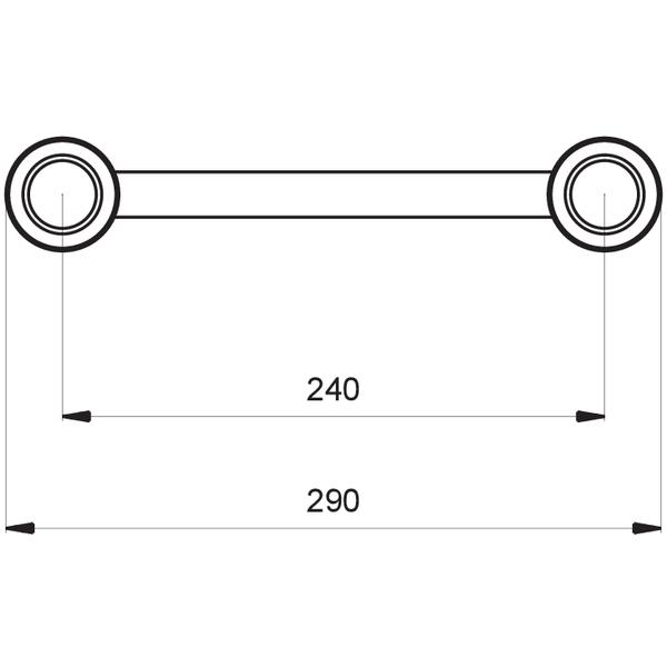 ProTruss SF30L2045B - Giunzione Angolare 45° BLACK