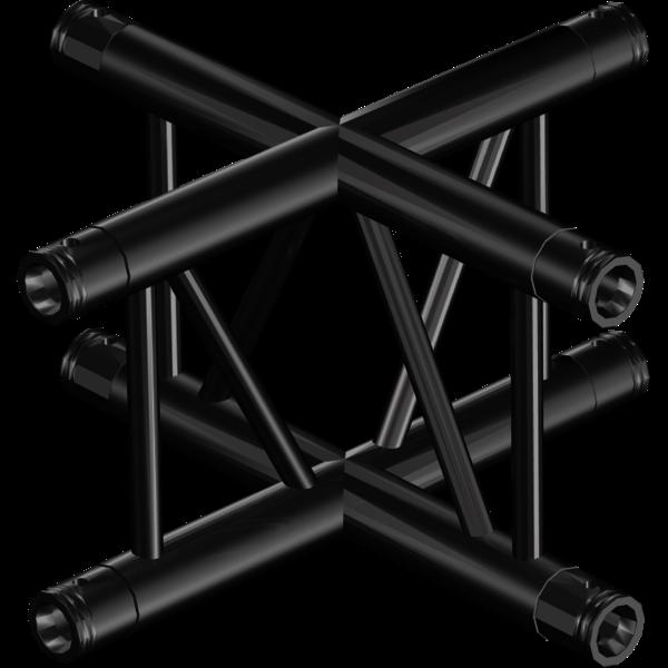 ProTruss SF30T3B - Raccordo a X BLACK