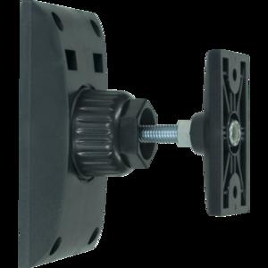 ProAudio AS282 - Supporto a parete per diffusori acustici in ABS