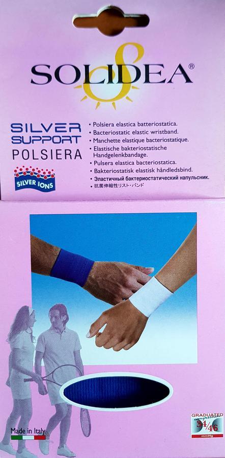 SOLIDEA Polsiera Silver support size L