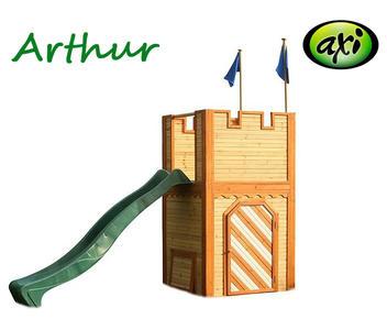 """Castello per Bambini in Legno di Cedro """"ARTHUR"""" di AXI"""